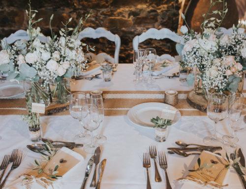 Mariage à Forcalqueiret, décoration et art de la table par l'Idolée.